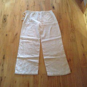 MaxMara Weekend Linen Pants